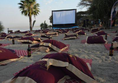 Axumit Open Air Cinema , Ethiopia, Addis Ababa